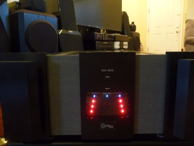 Krell KSA-300S Power Amplifier 300 watt x 2 channel  1