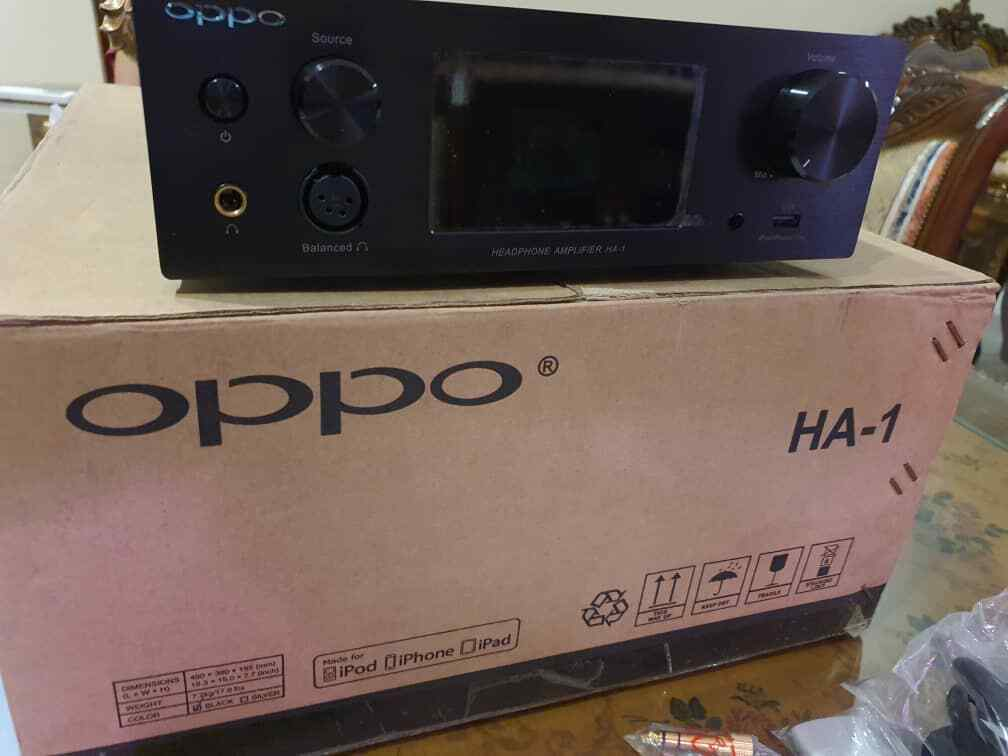 OPPO HA-1 Headphone Amplifier Display Unit Never Used Authorised Oppo Reseller1