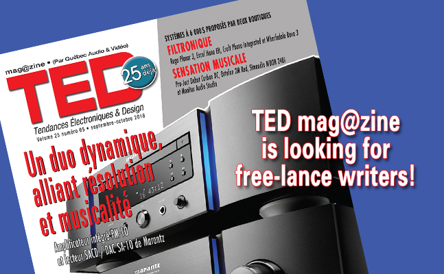 TED mag@zine is looking for free-lance writers!