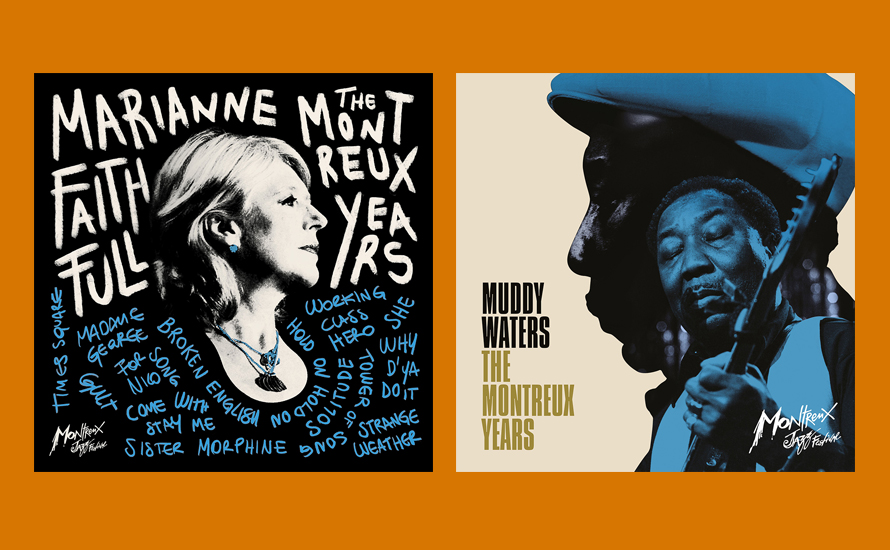 New Marianne Faithfull & Muddy Waters Live Albums