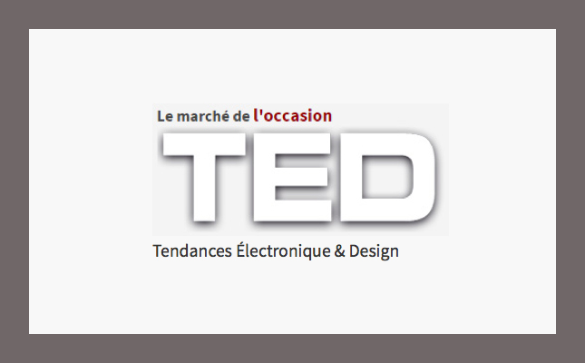 ATTENTION : Marché d'occasion • Magazine TED
