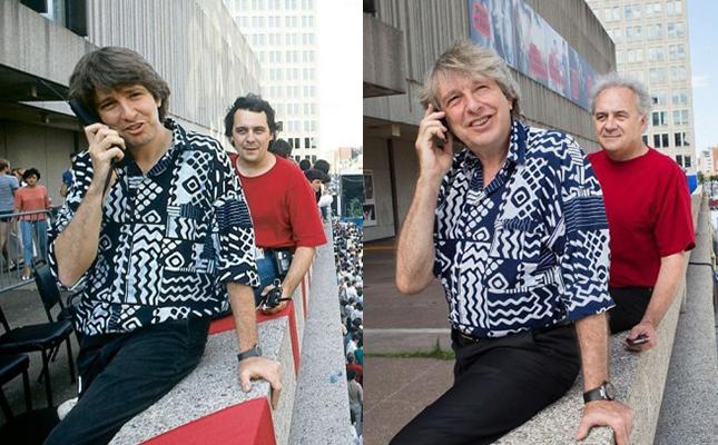 Alain Simard et André Ménard intronisés au Canadian Music Industry Hall of Fame