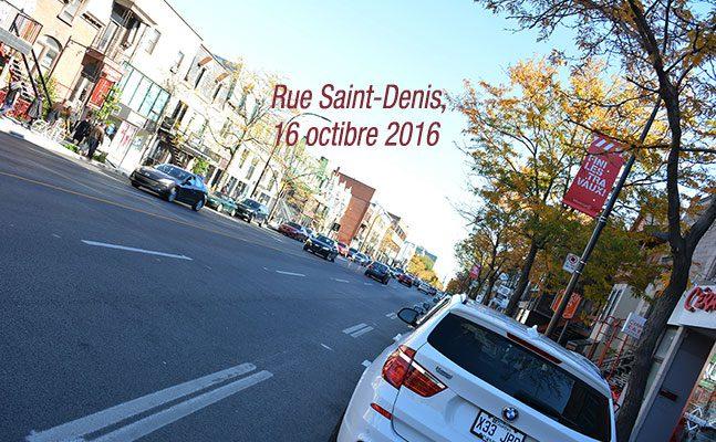 Rue Saint-Denis – Les travaux sont finis !