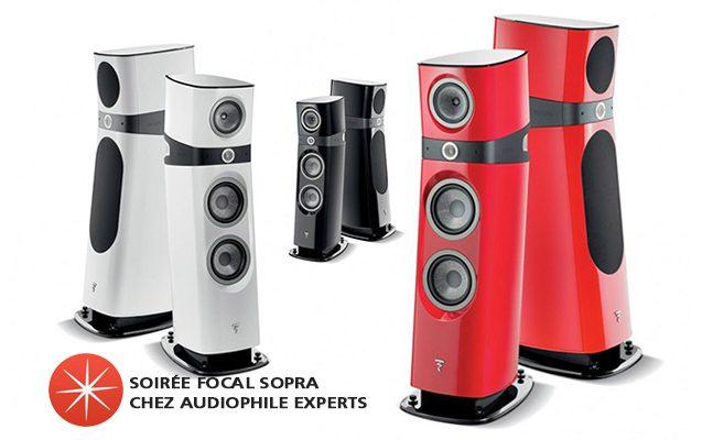 Soirée Focal Sopra chez Audiophile Experts