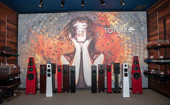 Séminaire produits Totem Acoustic chez Fillion Électronique