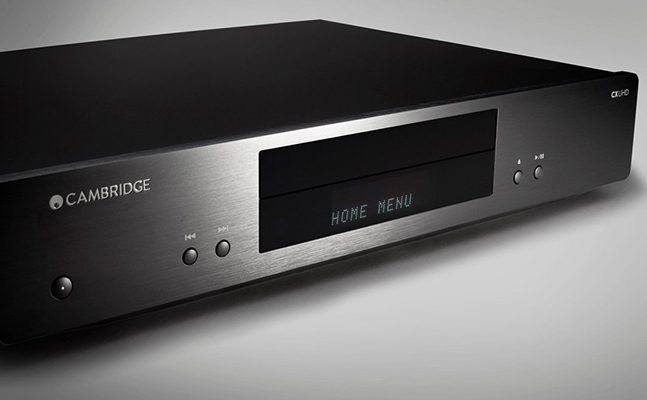 Cambridge présente le lecteur Blu-ray universel 4K UHD modèle CXUHD