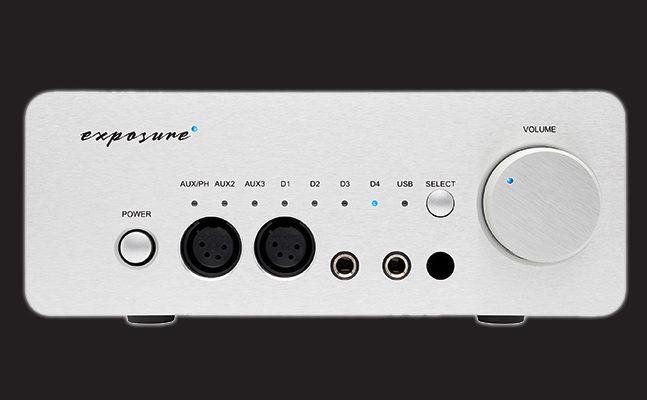 L'amplificateur de casque Exposure XM HP