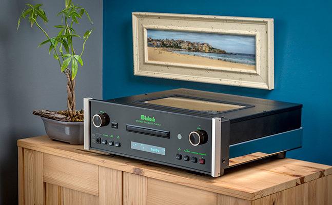 McIntosh: lecteur CD/SACD MCD6000 et un lecteur réseau MS500