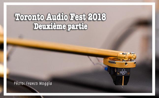 Reportage du Toronto Audio Fest 2018 (suite 2)