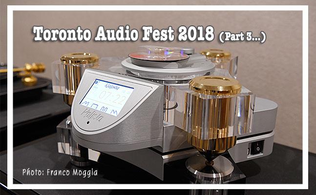 Reportage du Toronto Audio Fest 2018 (suite 3)