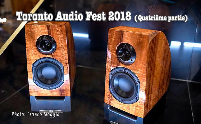 Reportage du Toronto Audio Fest 2018 (suite 4)