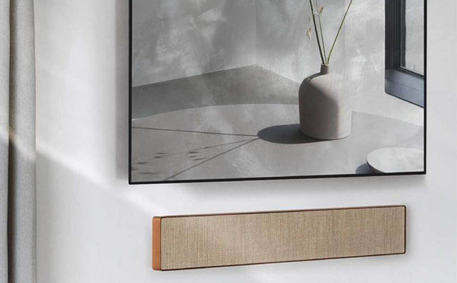 Bang & Olufsen : une barre de son Beosound Stage