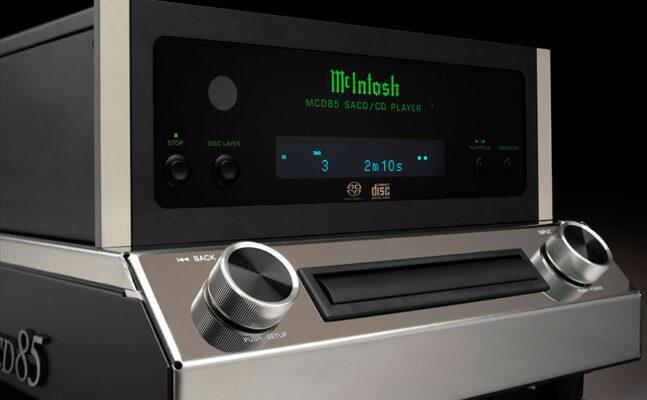 McIntosh présente le lecteur SACD/CD MCD85